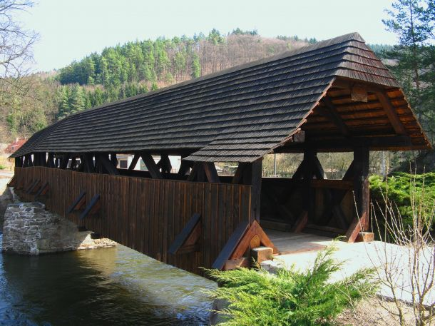 The Wooden Bridge of Černvír