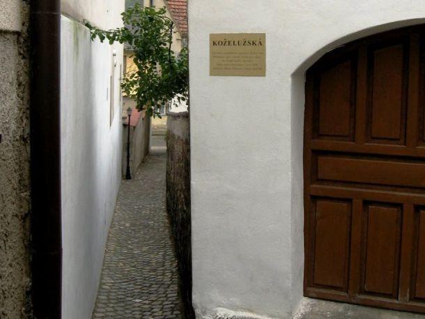 Středověké uličky