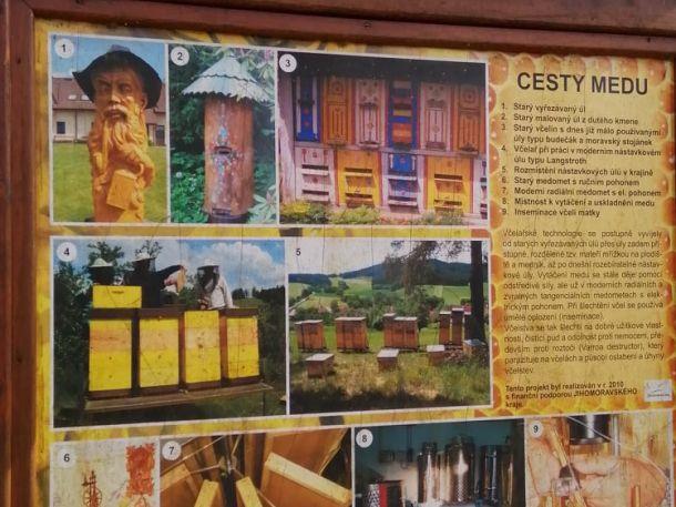 Naučná stezka včelařská – cesta medu